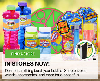 Bubble Wands and Accessories